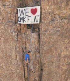 We Love Oak Flat